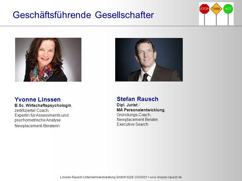 Linssen-Rausch Unternehmensberatung GmbH 0228 / 2420551 www.linssen-rausch.de Yvonne Linssen B.Sc.