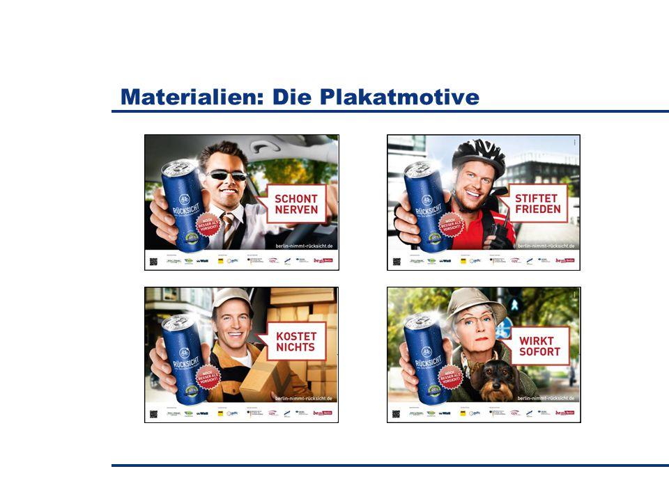 Materialien: Die Plakatmotive