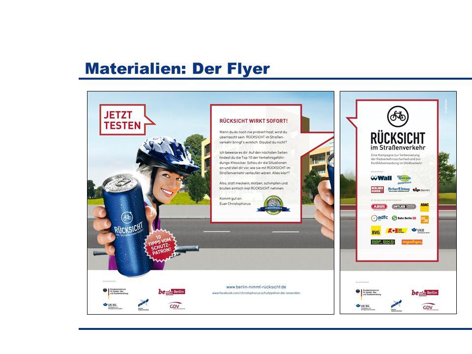 Materialien: Der Flyer