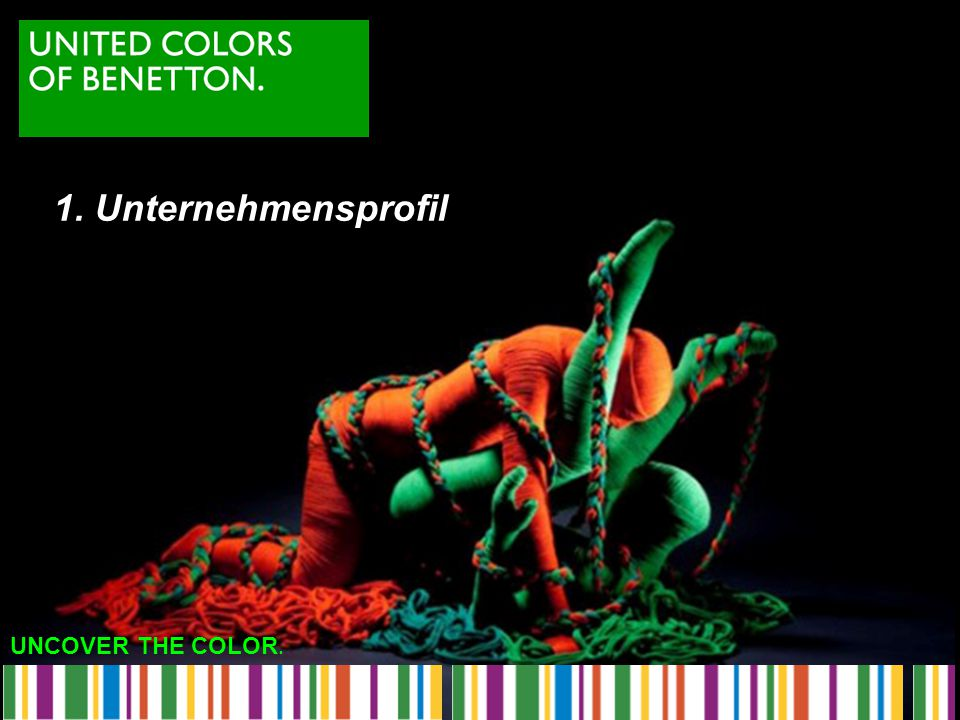 UNCOVER THE COLOR. 7. Benettons Skandal-Werbung