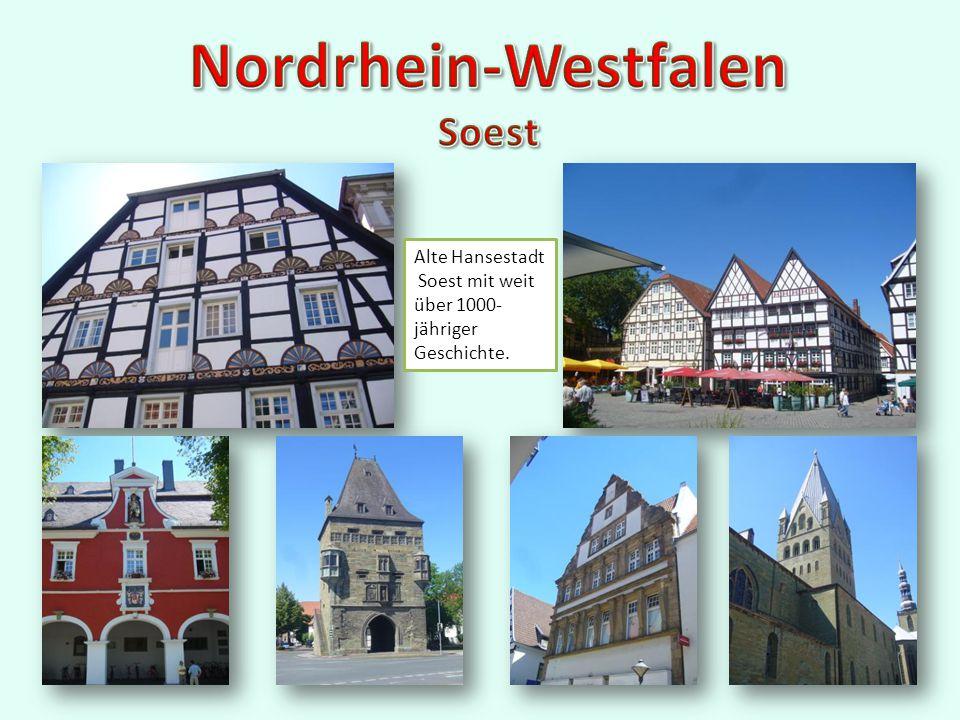 Alte Hansestadt Soest mit weit über 1000- jähriger Geschichte.