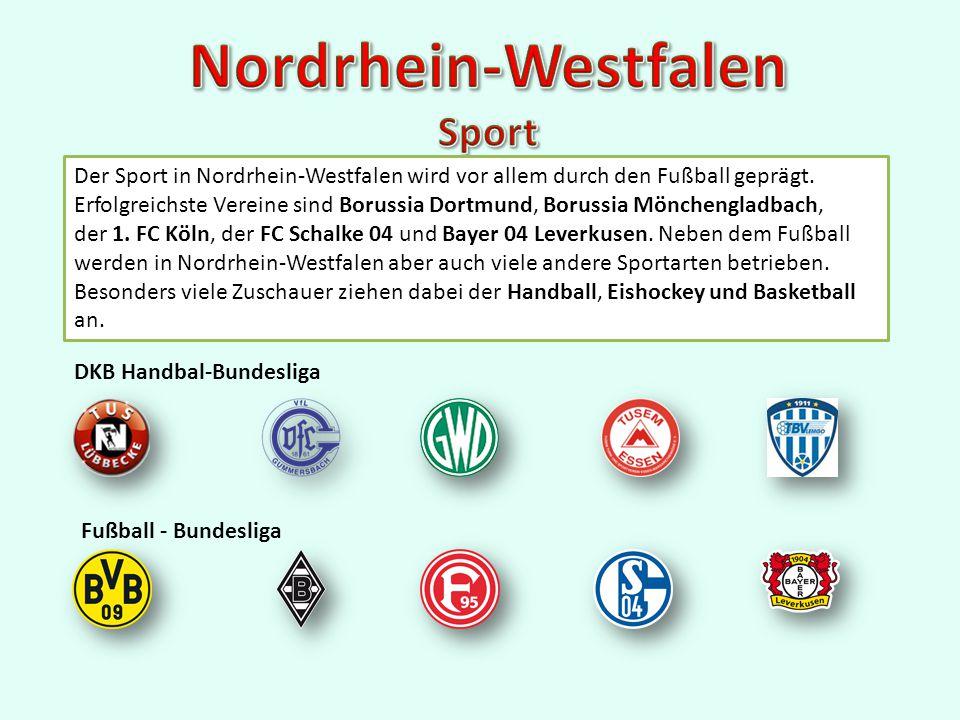 Der Sport in Nordrhein-Westfalen wird vor allem durch den Fußball geprägt.