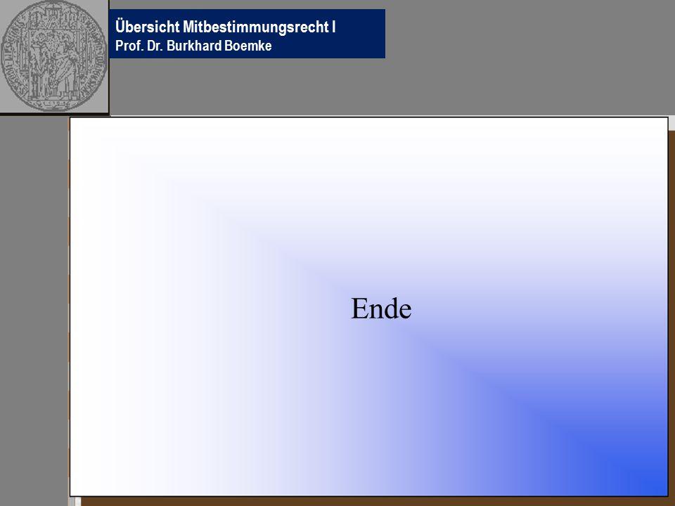Übersichten Betriebsverfassungsrecht Prof.Dr.
