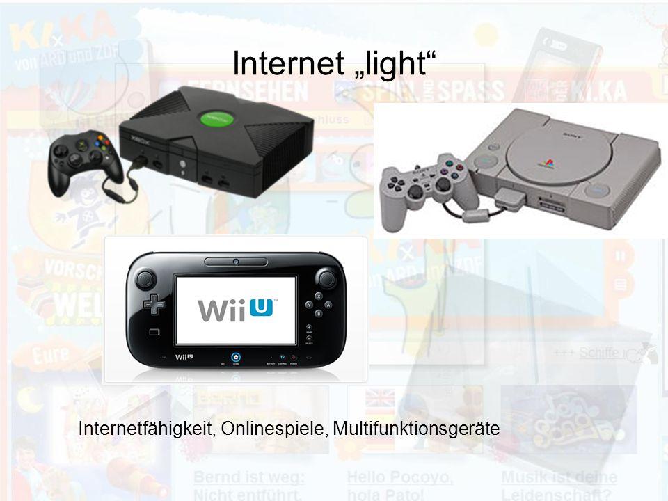"Internet ""light Internetfähigkeit, Onlinespiele, Multifunktionsgeräte"