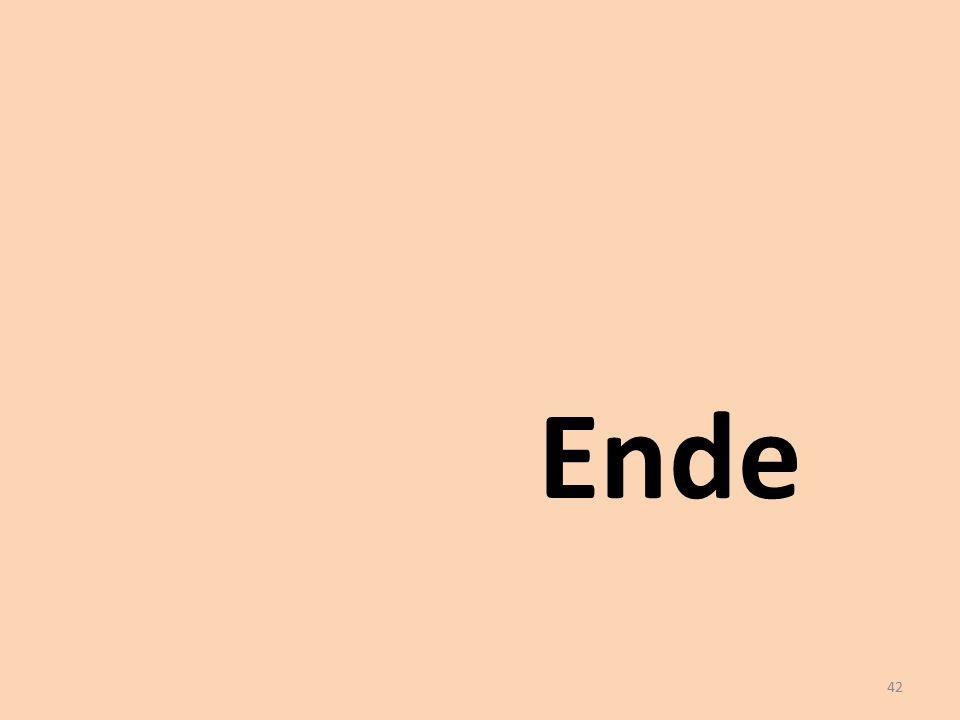 Ende 42