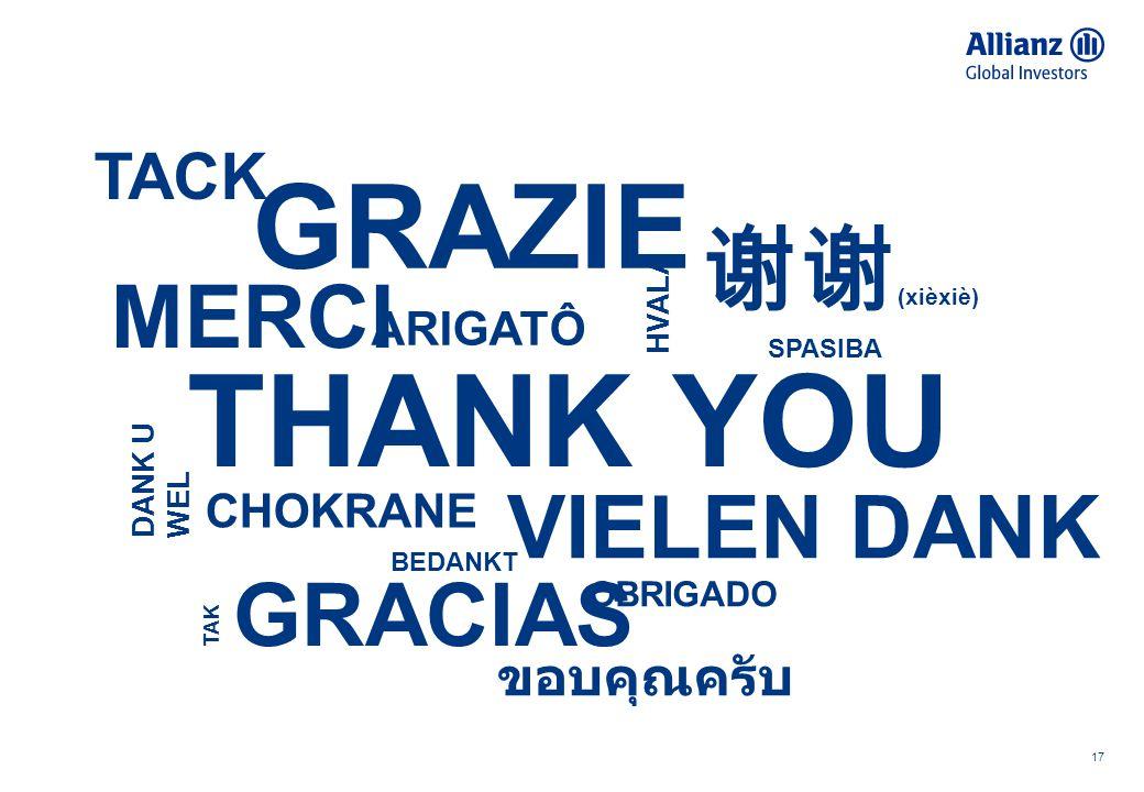 17 TACK GRAZIE VIELEN DANK MERCI ARIGATÔ DANK U WEL THANK YOU CHOKRANE HVALA GRACIAS OBRIGADO TAK BEDANKT SPASIBA 谢谢 (xièxiè) ขอบคุณครับ