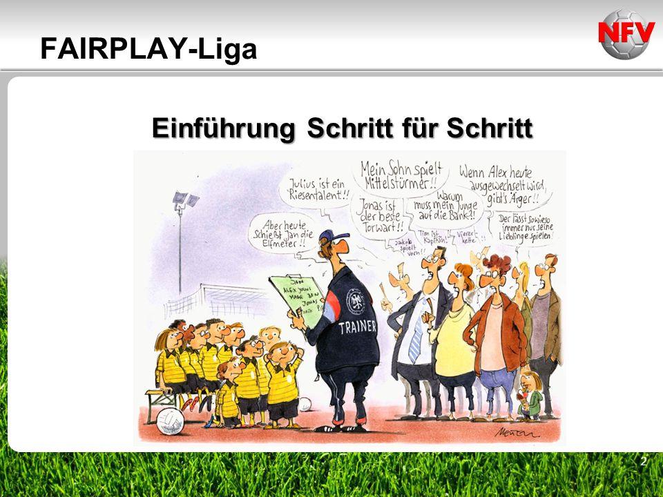 ________________ _____ ______ __________ _____ ____ Textmasterformate durch Klicken bearbeiten Zweite Ebene Dritte Ebene 16.07.201523 FAIRPLAY-Liga (DFB-/NFV-Regeln) Auszug DFB-JugendordnungAuszug NFV-Jugendordnung, Anhang 1 Status: 15.