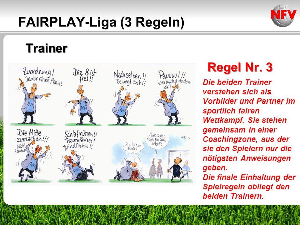 ________________ _____ ______ __________ _____ ____ Textmasterformate durch Klicken bearbeiten Zweite Ebene Dritte Ebene Trainer FAIRPLAY-Liga (3 Rege