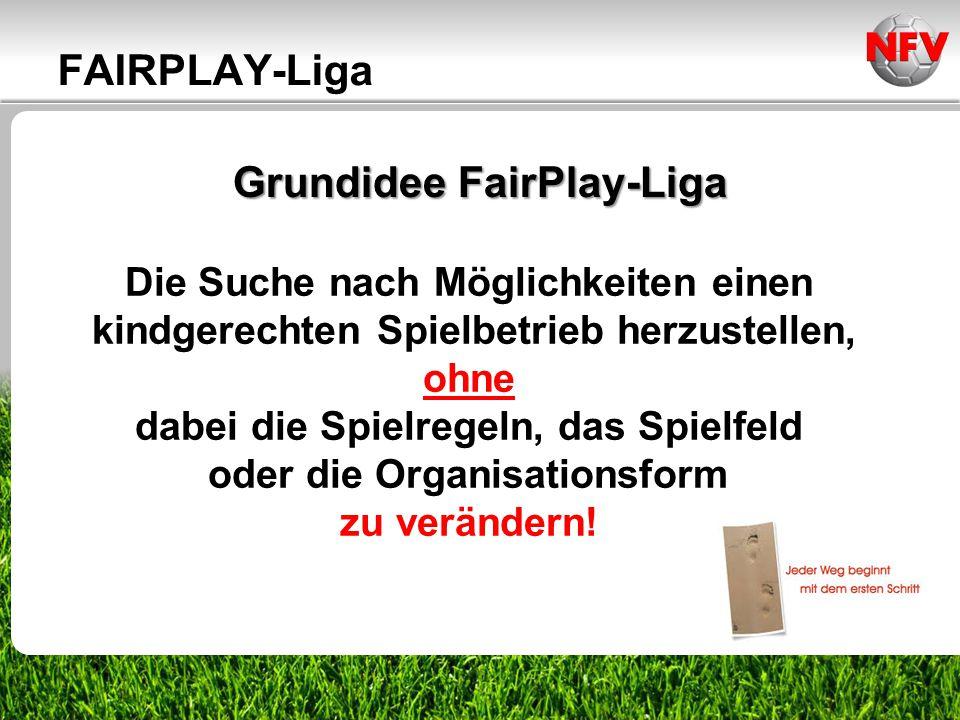 ________________ _____ ______ __________ _____ ____ Textmasterformate durch Klicken bearbeiten Zweite Ebene Dritte Ebene Grundidee FairPlay-Liga Die S