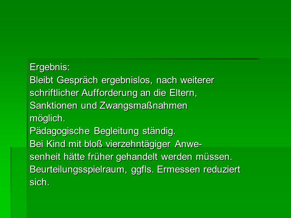 Literatur: F.Hufen, Erziehung und Bildung, RdJB 2013, Sonderheft P.-Ch.Kunkel, Schulsozialarbeit, RDJB 2013, Sonderheft 2013, Sonderheft Niehues/Rux, Schul- und Prüfungsrecht, 4.Aufl.