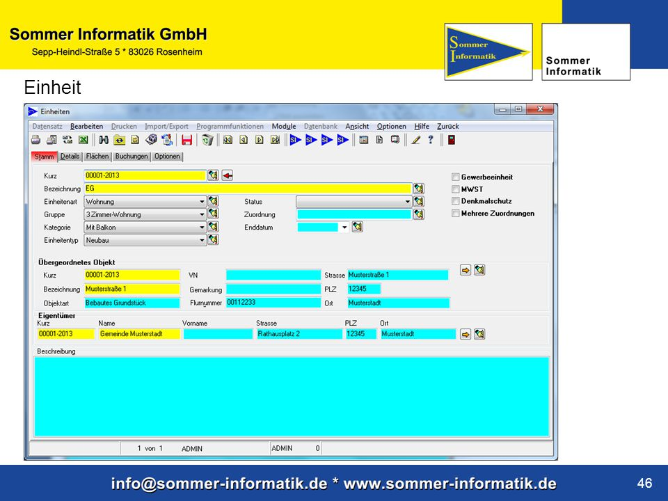 www.sommer-informatik.de 46 Einheit