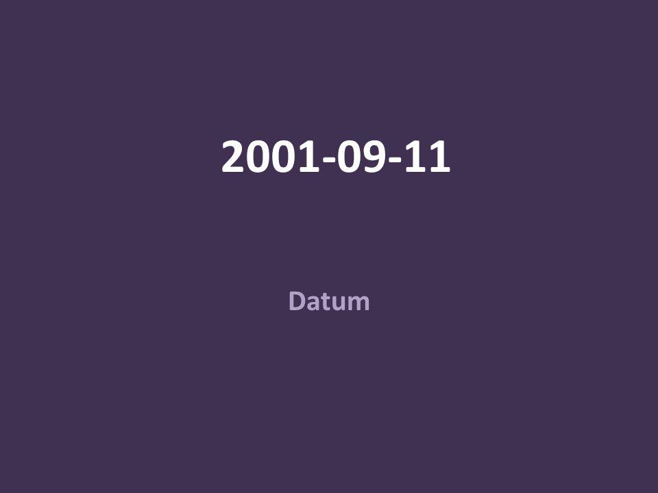 2001-09-11 Datum