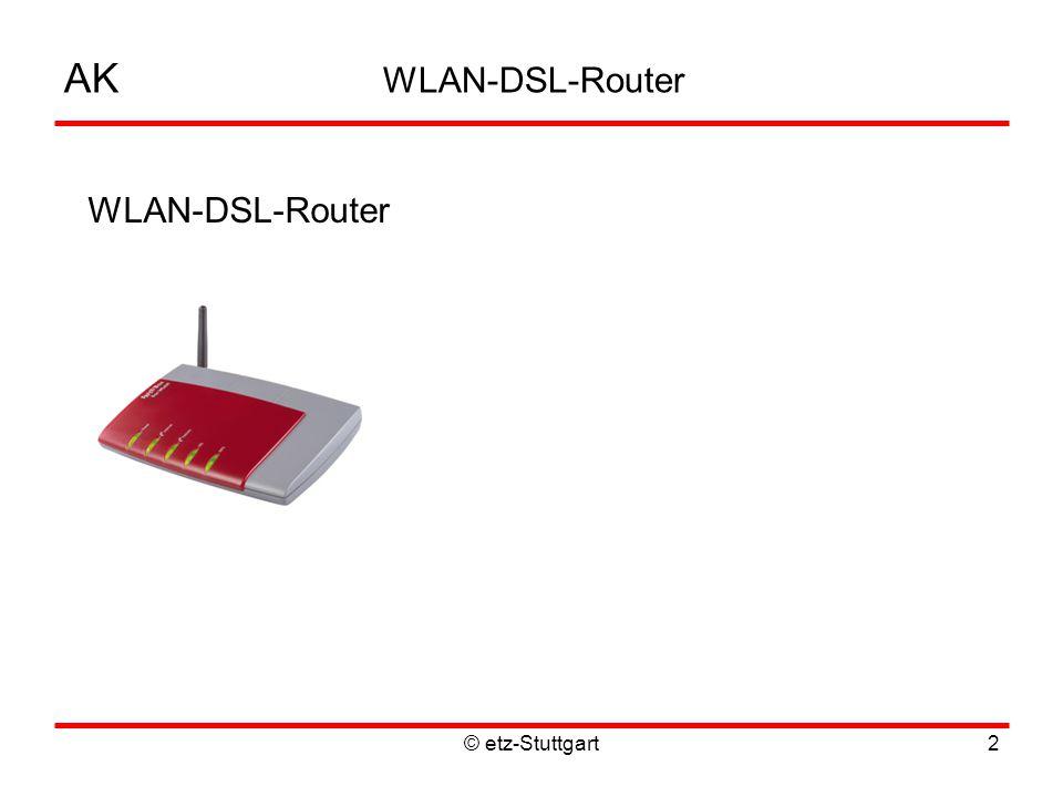 © etz-Stuttgart2 AK WLAN-DSL-Router WLAN-DSL-Router