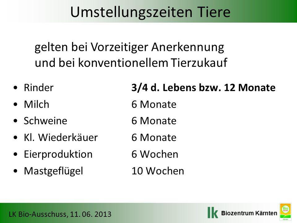 Biozentrum Kärnten LK Bio-Ausschuss, 11. 06. 2013 Bio-Saatgutdatenbank - AGES