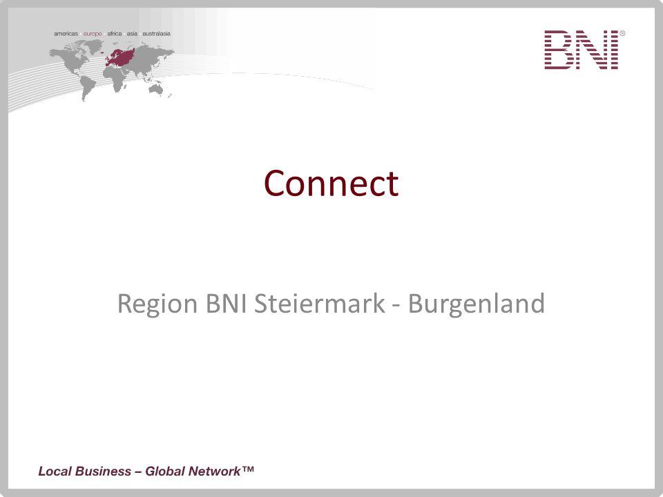 Connect Region BNI Steiermark - Burgenland