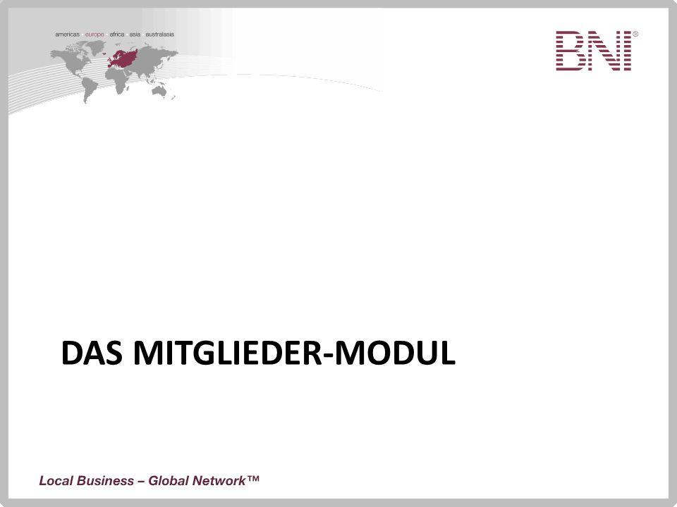 DAS MITGLIEDER-MODUL