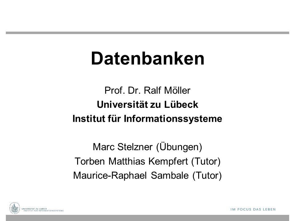 Datenbanken Prof.Dr.