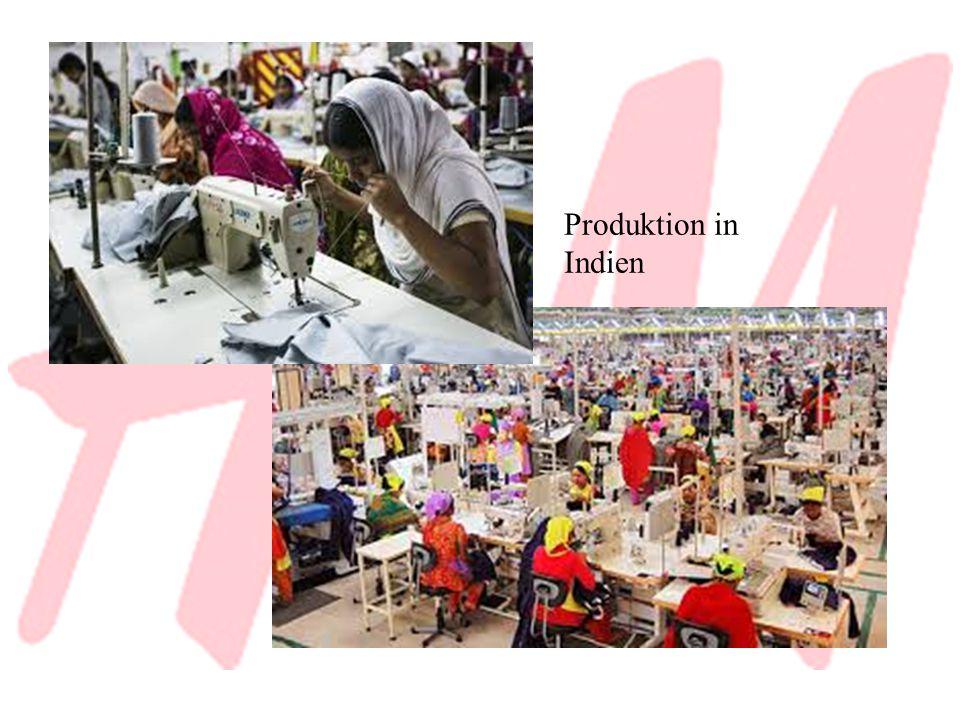 Produktion in Indien