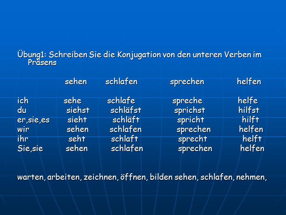 Übung2: Ergänzen Sie.1 Herr Li _____ nach Berlin.