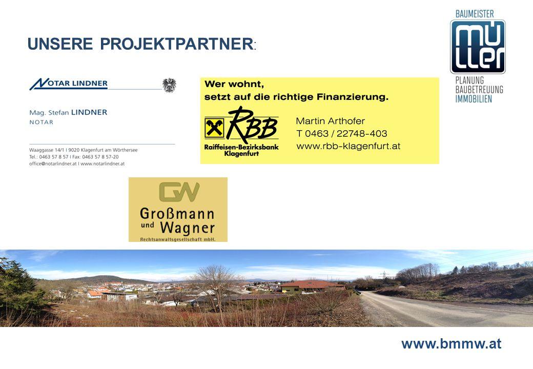 www.bmmw.at UNSERE PROJEKTPARTNER :