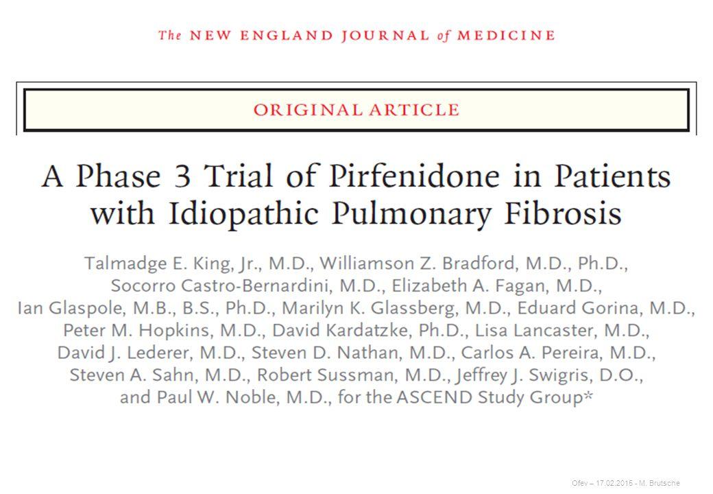 Therapie der Lungenfibrosen – IPF – wie weiter?