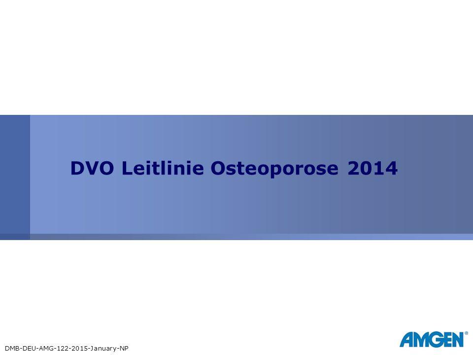 DVO Leitlinie Osteoporose 2014 DMB-DEU-AMG-122-2015-January-NP