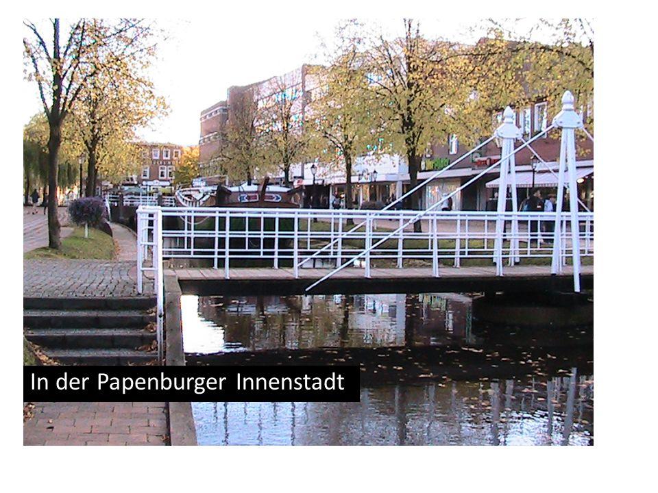 In der Papenburger Innenstadt