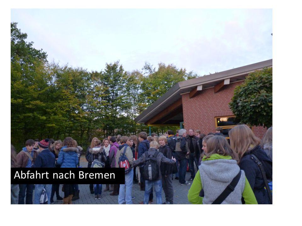 Abfahrt nach Bremen