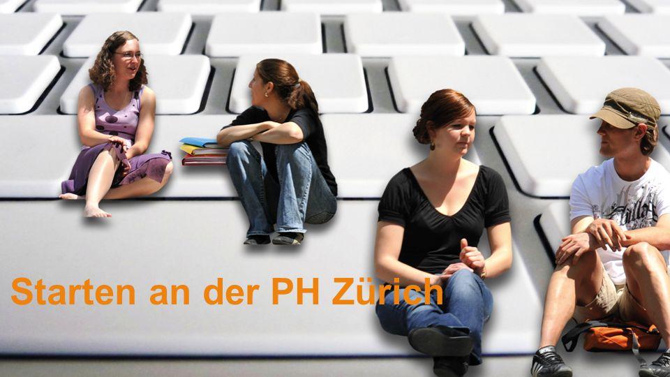 Starten an der PH Zürich