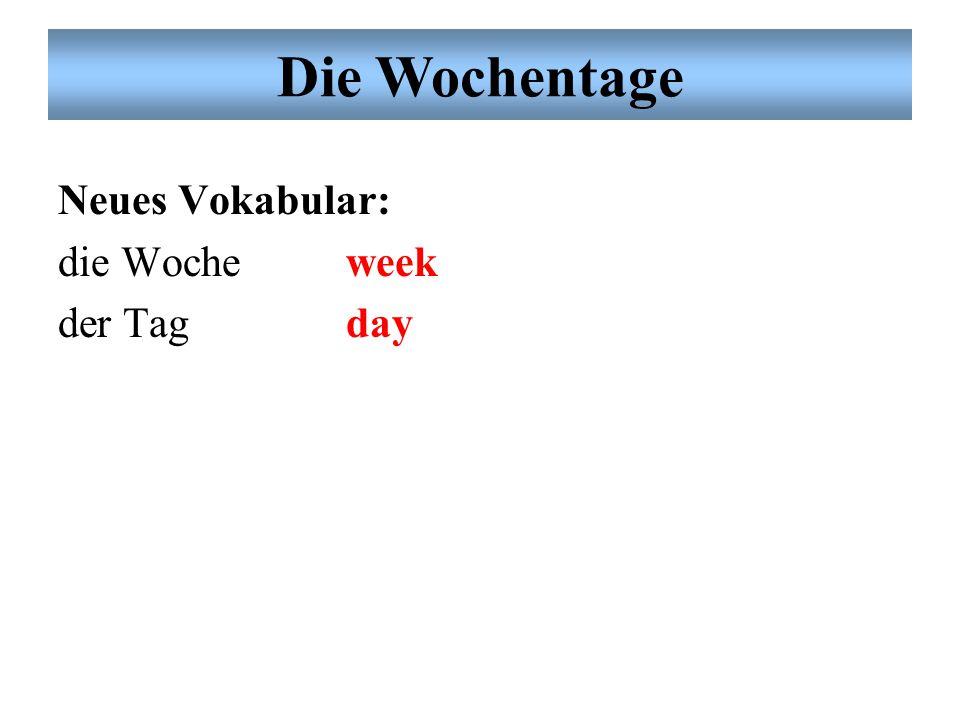 Noch einmal: Dialog Übung # 2: Partnerarbeit Ordnen Sie das Subjektpronomen und das konjugierte Verb richtig zu. (spielen = to play) Neue Grammatik: K