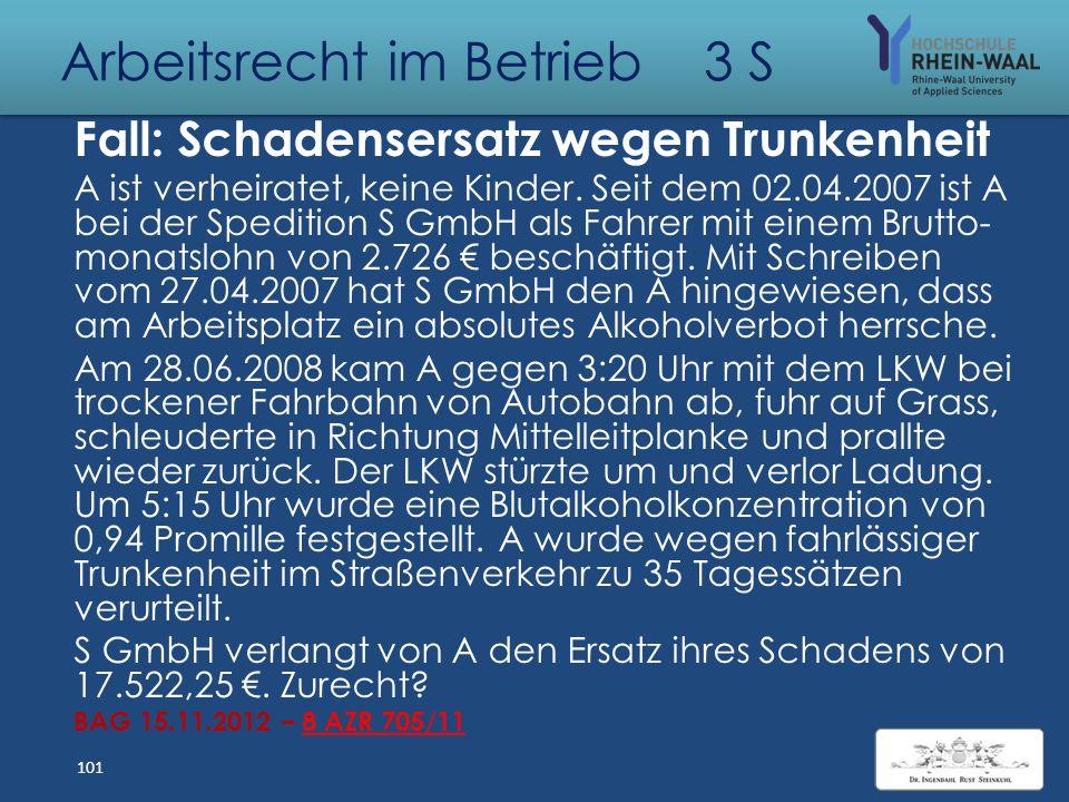 Arbeitsrecht im Betrieb 3 S BAG zu Siemens - BenQ: Belehrung unzureichend Identität der Betriebserwerberin Grund für Übergang: Schuldrechtlicher Vertr