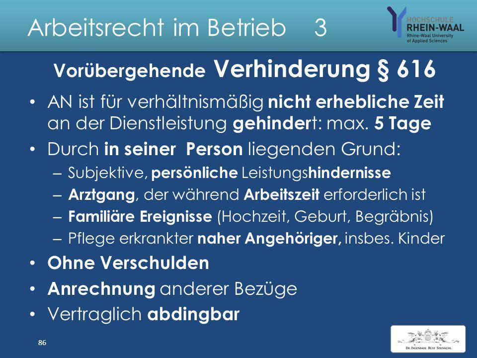 Arbeitsrecht im Betrieb 3 Übertragung von Abteilungen § 613 a BGB: Betrieb oder Betriebsteil Betriebsteil: Identifizierbare wirtschaftliche und organi