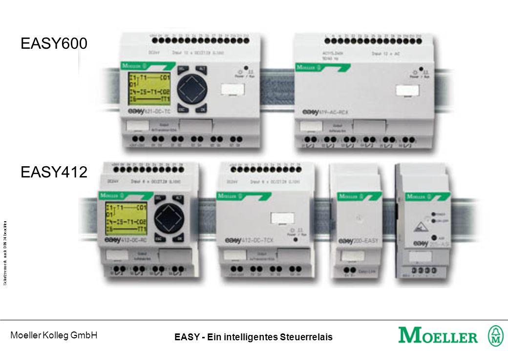 Moeller Kolleg GmbH Schutzvermerk nach DIN 34 beachten EASY - Ein intelligentes Steuerrelais EASY - Funktionsrelais t s m,s h,m .