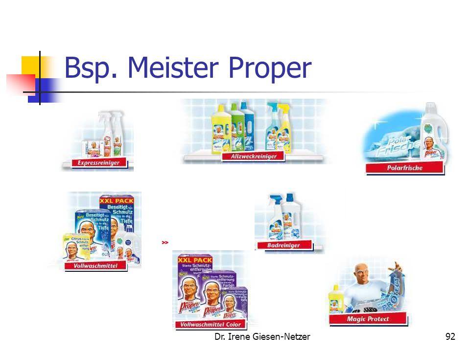 Dr. Irene Giesen-Netzer92 Bsp. Meister Proper