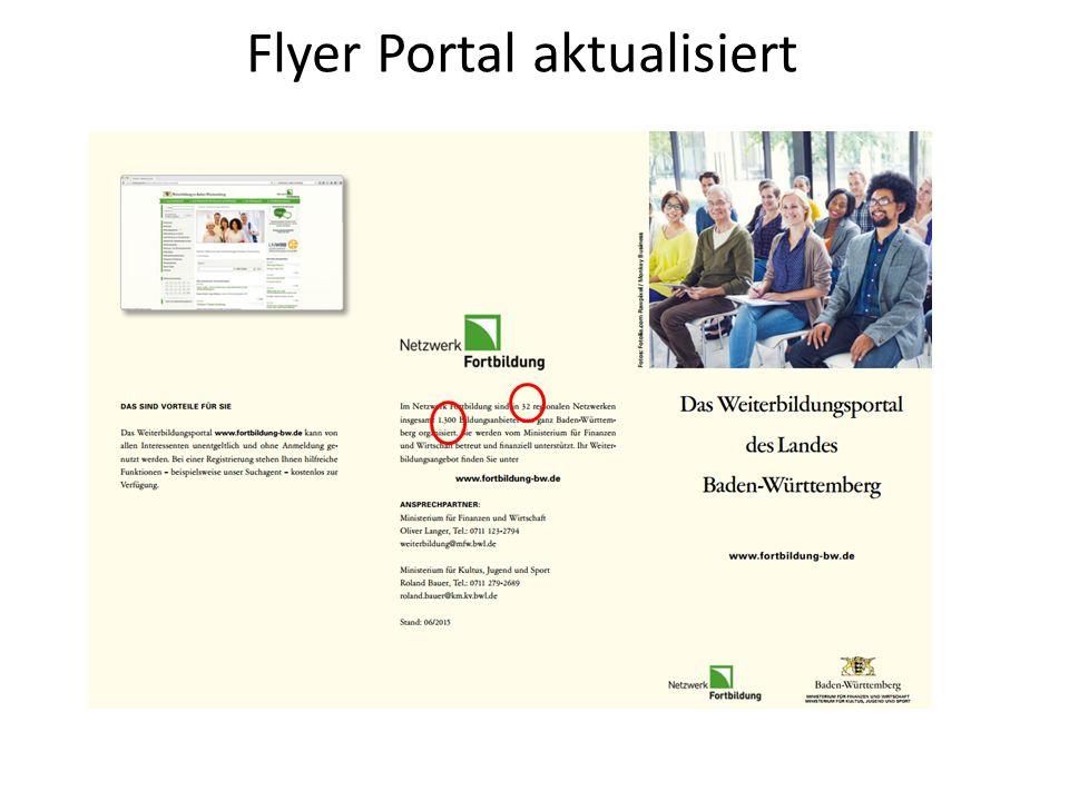 Flyer Portal aktualisiert
