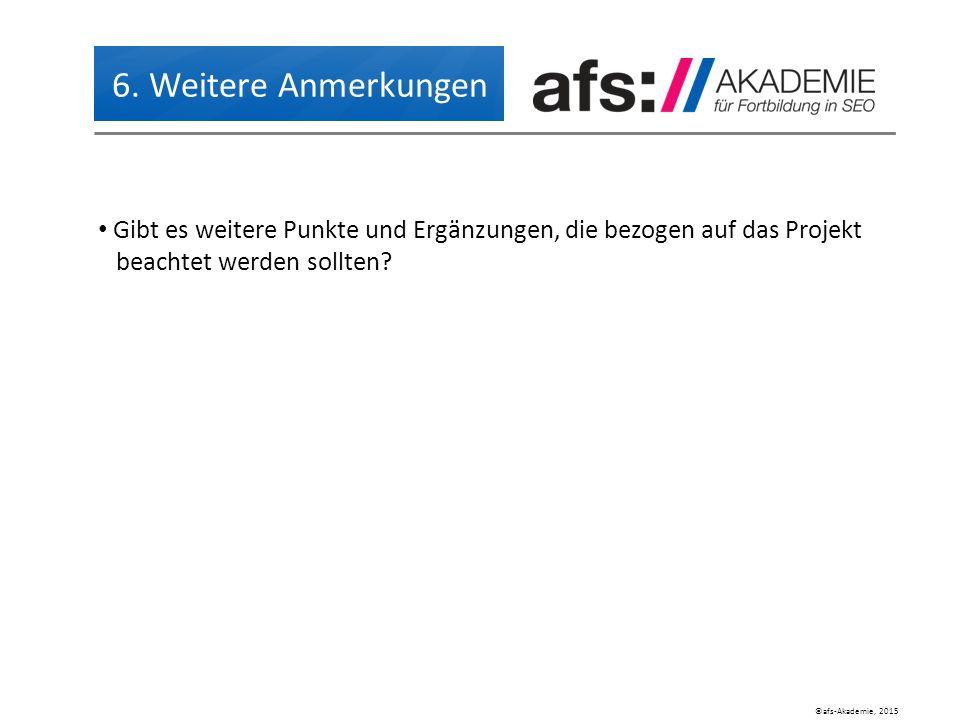 ©afs-Akademie, 2015 6.