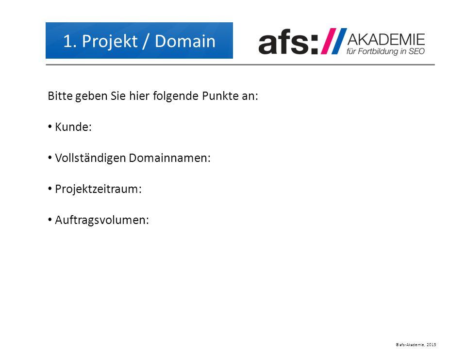 ©afs-Akademie, 2015 1.