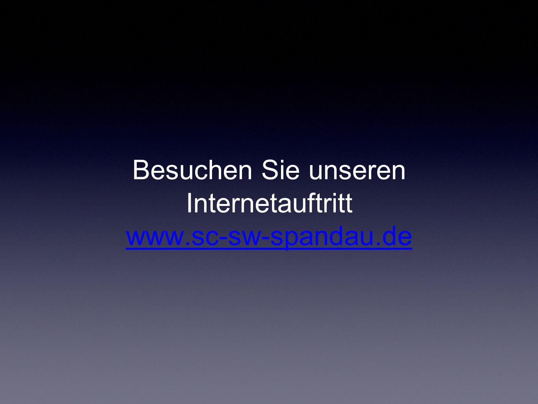 Besuchen Sie unseren Internetauftritt www.sc-sw-spandau.de