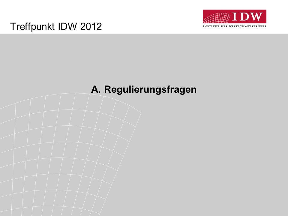 14 Warnfunktion des Abschlussprüfers in der Staatsschuldenkrise (3)  Begleitung des Prozesses durch das IDW seit Frühjahr 2010: erhöhte Aufmerksamkeit und regelmäßige Verfolgung der Thematik  enger Kontakt mit BaFin / Dt.