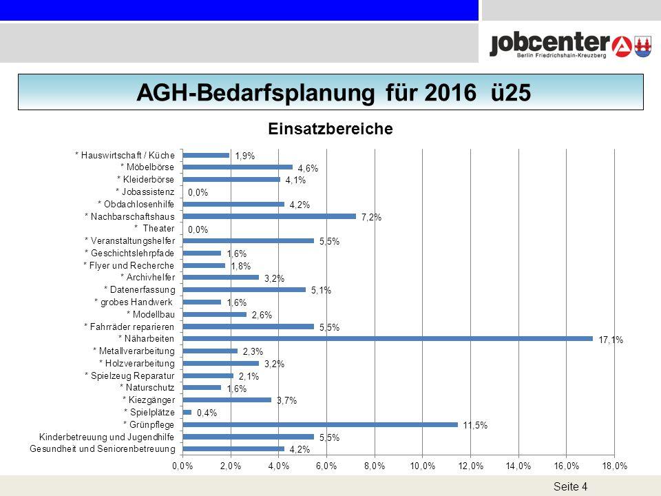 Seite 4 AGH-Bedarfsplanung für 2016 ü25