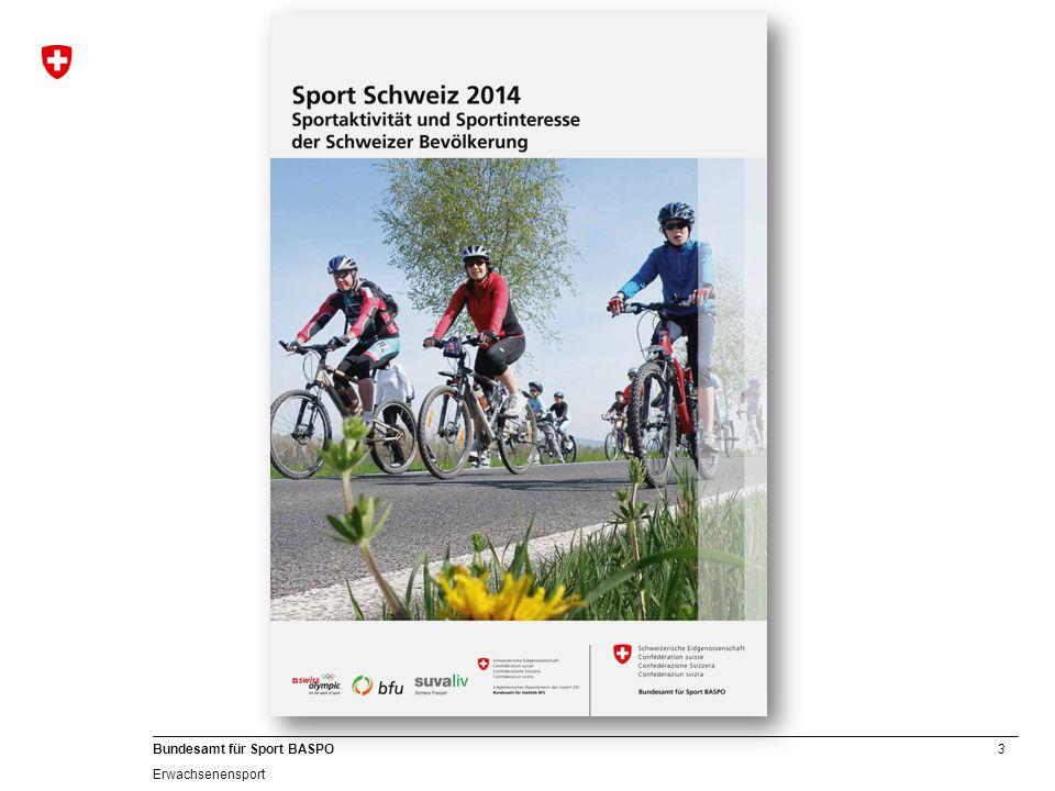 3 Bundesamt für Sport BASPO Erwachsenensport