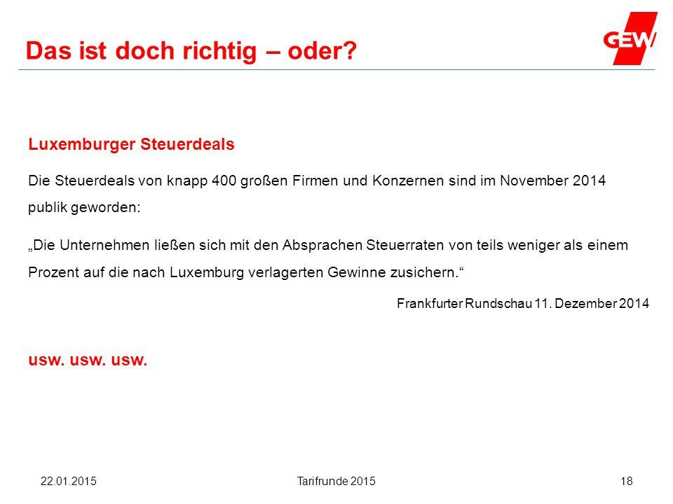 Hanau Das ist doch richtig – oder? Luxemburger Steuerdeals Die Steuerdeals von knapp 400 großen Firmen und Konzernen sind im November 2014 publik gewo