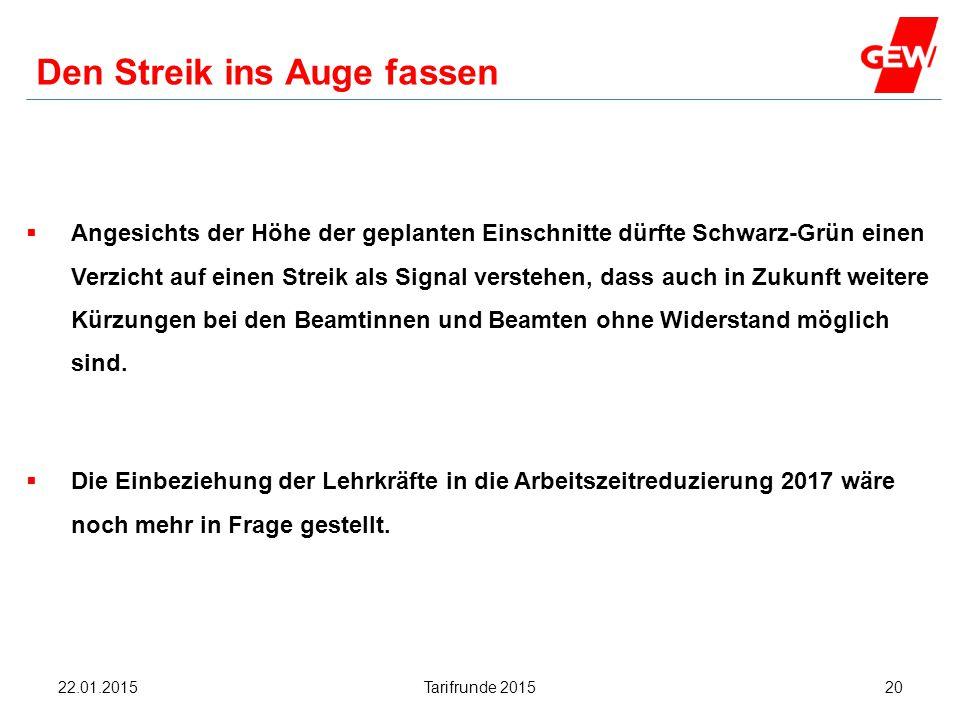 Hanau Den Streik ins Auge fassen  Angesichts der Höhe der geplanten Einschnitte dürfte Schwarz-Grün einen Verzicht auf einen Streik als Signal verste