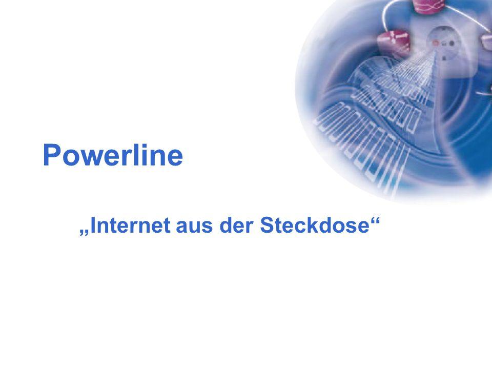 """Powerline """"Internet aus der Steckdose"""""""