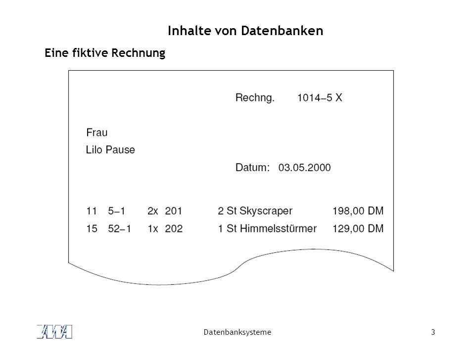 Datenbanksysteme44 Integritätsbedingungen Integritätsbedingungen (engl.