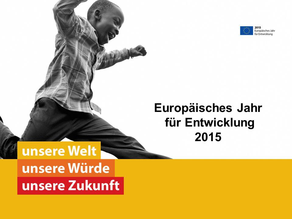 Europäisches Jahr für Entwicklung 2015