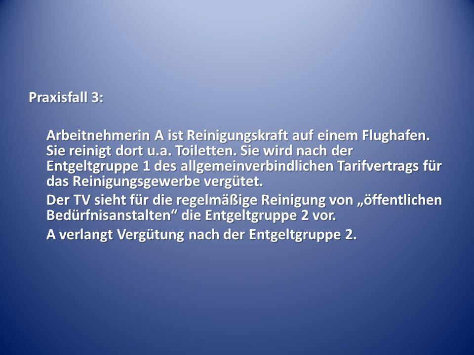 Inhalt von Tarifverträgen Betriebsnormen – BAG 26.4.1990 - 1 ABR 84/87: Immer dann, wenn eine Regelung nicht Inhalt eines Individualarbeitsvertrages sein kann, handelt es sich um Betriebsnormen und nicht um Inhalts- oder Abschlussnormen.