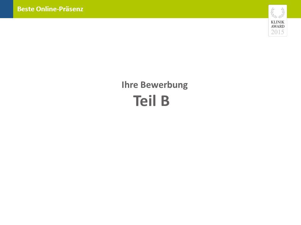 """Beste Online-Präsenz Diese Musterseite aus dem """"Jahrbuch der besten Kliniken zeigt Ihnen, wo Ihre Angaben im Jahrbuch platziert werden."""