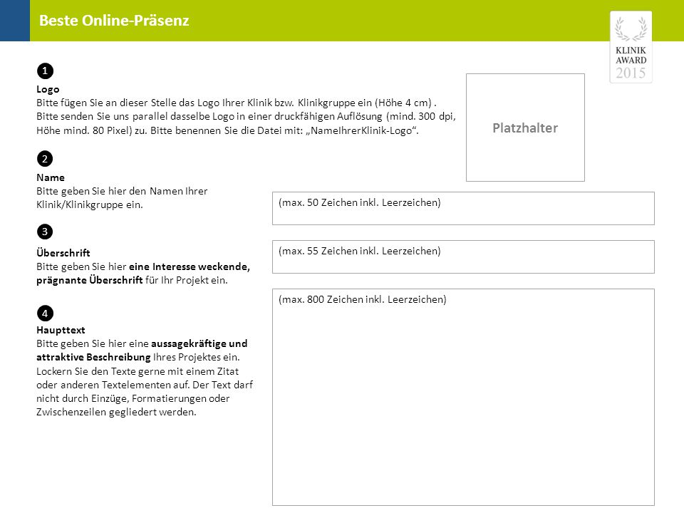 Beste Online-Präsenz Platzhalter Bild 1 Bitte fügen Sie an dieser Stelle Bild 1 ein.