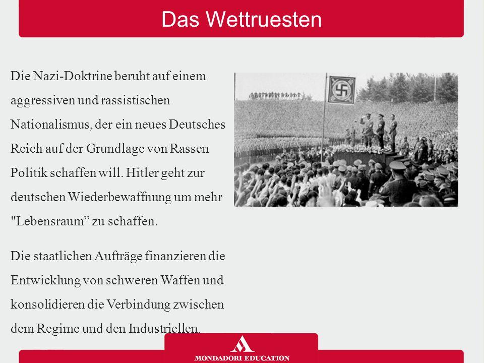 Außenpolitik 1933 verlässt Deutschland den Völkerbund; zwischen 1934 und 1939 fährt Hitler fort, das Land zu bewaffnen und annektiert Österreich.